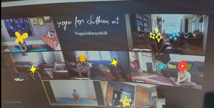 #yogaforchildren #yoga4kids #zoomclassesforchildren#robbieyoga #Iyengaryoga #graziayoga #yogainforesthill #yogalondon #staysafe #voronavirus #covid19 #robbiegrazia #yogaforhealth #sunsalutation #surianamaskar